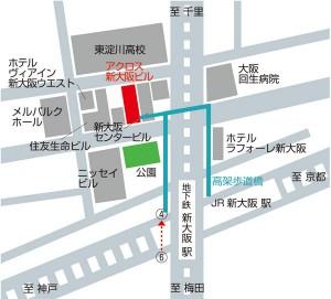 新大阪支店地図